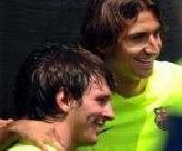 «Барселона»— это два гения. Маленький и большой