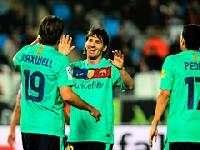 «Барселона» отгрузила 8 безответных мячей в ворота «Альмерии»