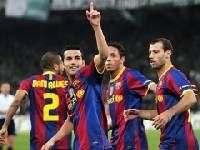 «Барселона» крупно обыграла «Пао»