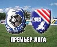 «Черноморец» побеждает «Таврию» и поднимается на 12 место