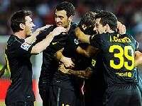 «Барселона» побеждает «Гранаду»
