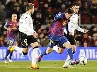 Барселона обыграла Валенсию и вышла в финал Кубка Испании