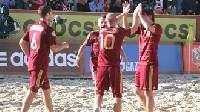 Сборная России по пляжному футболу выиграла Кубок Европы