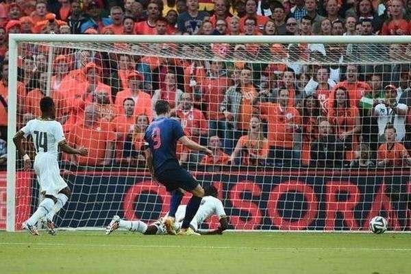 Нидерланды — гана — 1 0 видео гола