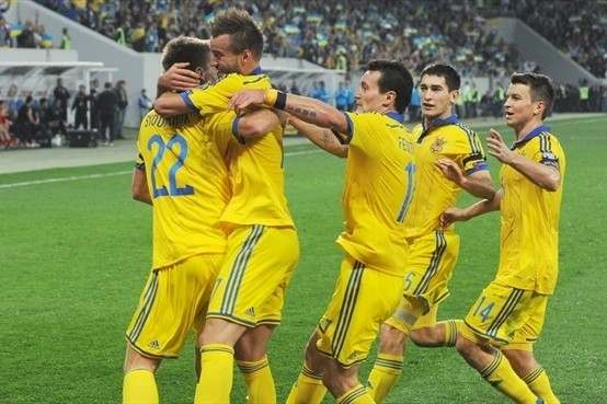 Авторы всех мячей сборной Украины (1992–2014)