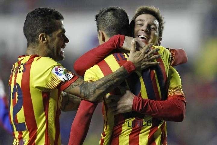 «Уэска»— «Барселона» 0:4 (ВИДЕО голов)