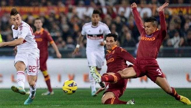 «Рома»— «Милан»: ВИДЕОтрансляция