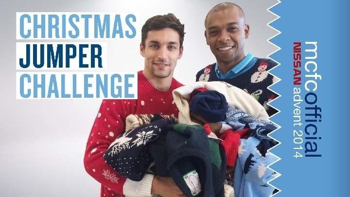 Как Санта-Клаус посетил футболистов «Манчестер Сити» (ВИДЕО)