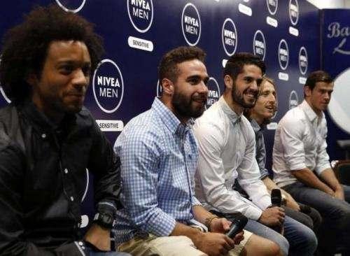 Футболисты «Реала» снялись в рекламе крема (ВИДЕО)