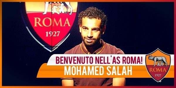 Официально. Мохаммед Салах перешел в «Рому»