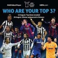 Прекрасное видео про каждого игрока, который был отобран УЕФА на звание лучшего игрока года Европы сезона 2014/2015!