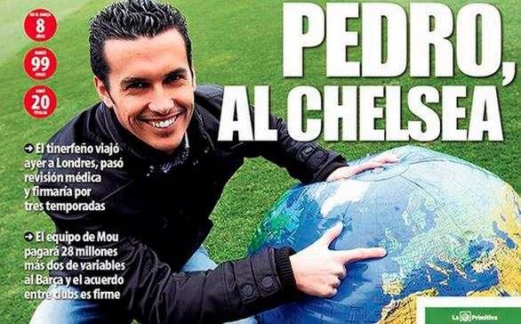 Педро переехал в «Челси» из-за Лондона