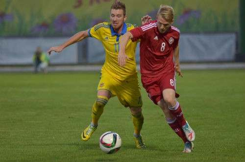Украинская молодежка уступает Дании