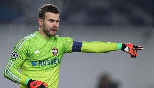 Акинфеев увеличил антирекорд Лиги чемпионов