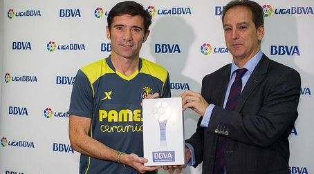 Гарсия Тораль— лучший тренер Примеры в сентябре
