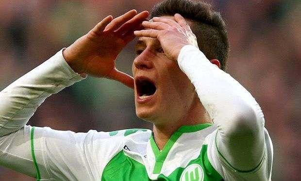 Дракслер получил травму натренировке «Вольфсбурга»