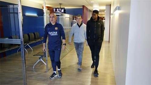 Защитник Барселоны выбыл на три недели