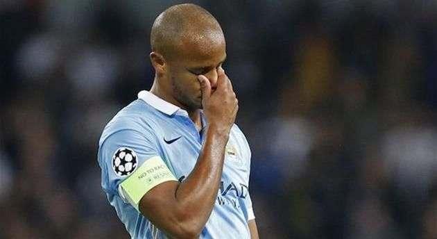 Манчестер Сити без своего капитана отчетырех до 6-ти недель