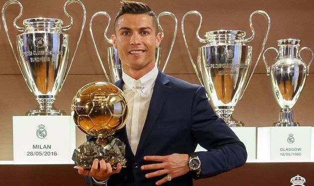 Роналду: если бы не Реал и сборная, то не выиграл бы Золотой Мяч