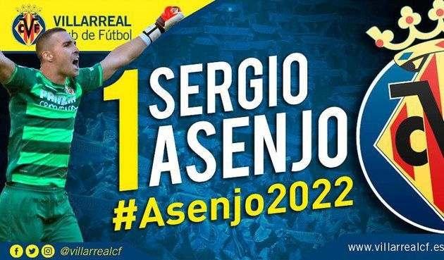 Асенхо продлил контракт с Вильярреалом до 2022 года