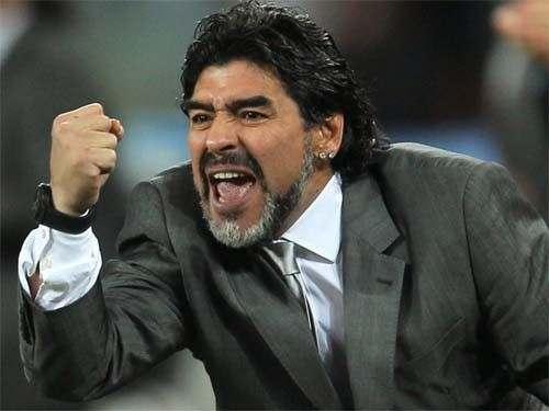Диего Марадона претендует на должность тренера Наполи
