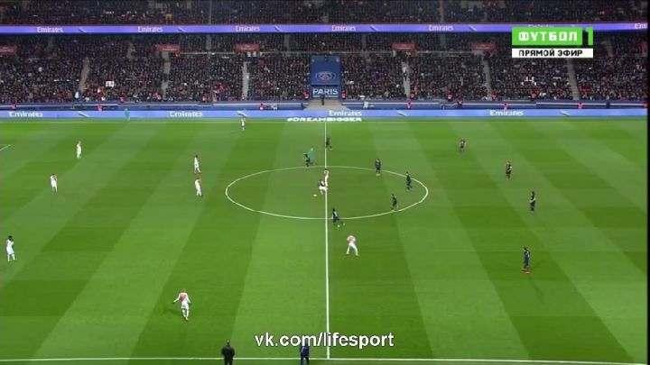 Лига 1. ПСЖ— Монако (Обзор матча)
