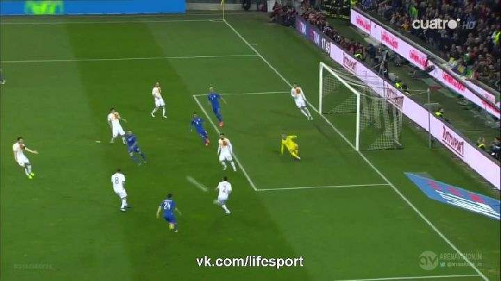Товарищеский матч. Италия— Испания (Обзор матча)