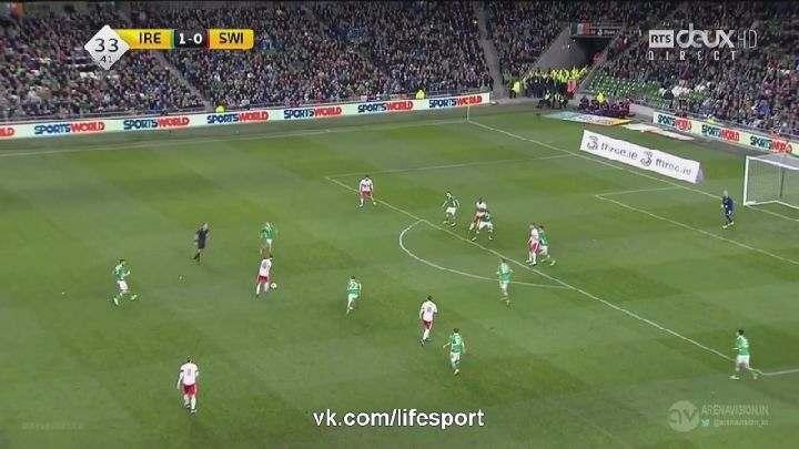 Товарищеский матч. Ирландия— Швейцария (Обзор матча)