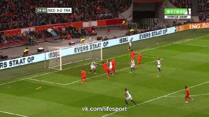 Товарищеский матч. Нидерланды— Франция (Обзор матча)