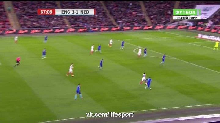 Товарищеский матч. Англия— Нидерланды (Обзор матча)