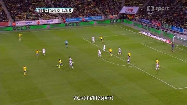 Товарищеский матч. Швеция— Чехия (Обзор матча)