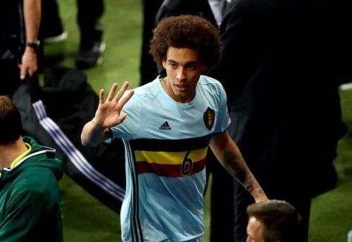 Аксель ВИТСЕЛЬ: «Бельгии нужно продолжать в том же духе»
