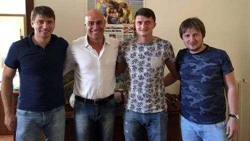 ОФИЦИАЛЬНО: Василий Прийма подписал контракт с Фрозиноне