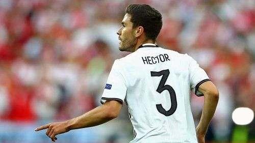 Хектор может пропустить матч с Италией