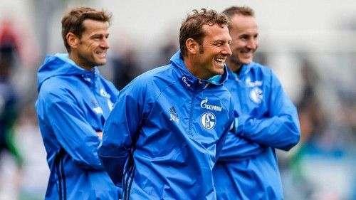 Нового тренера Шальке встретили аплодисментами