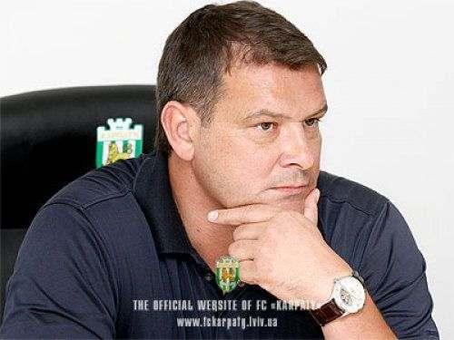 Сергей ЗАЙЦЕВ: «Карпаты» будут бороться за самые высокие позиции
