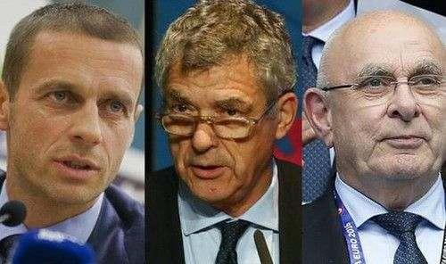 На пост президента УЕФА есть три кандидата