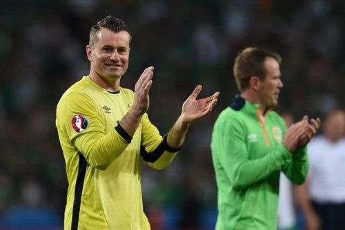 40-ка летний вратарь завершил карьеру в сборной Ирландии