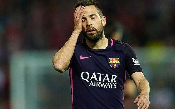 Барселона готова расстаться с Альбой
