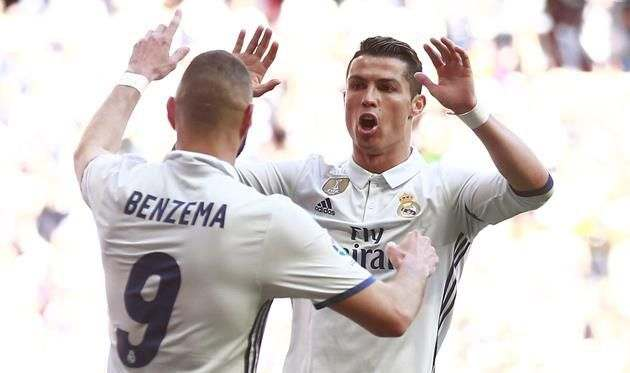Роналду и Бензема не сыграют против Спортинга