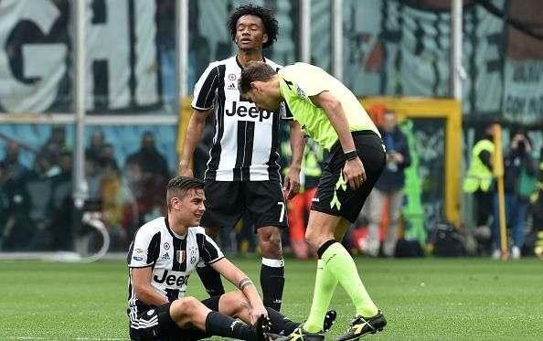 Дибала повредил лодыжку в матче с Пескарой