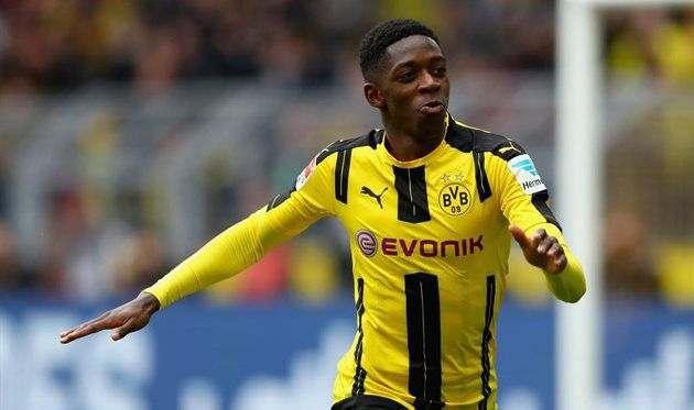Дембеле обсудил с Гвардиолой возможный переход в Манчестер Сити