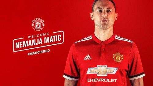 ОФИЦИАЛЬНО: Неманья Матич— игрок Манчестер Юнайтед