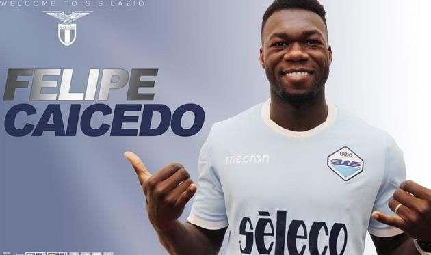 Официально: Кайседо — игрок Лацио