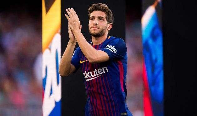 Барселона отказала МЮ в продаже Серхи Роберто