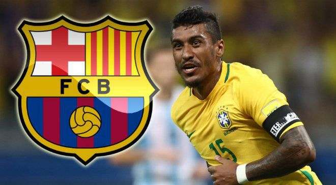 Паулиньо стал игроком Барселоны, – Daily Mail