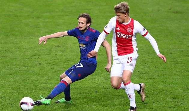 Аякс не продал Дольберга в Монако за 50 миллионов евро