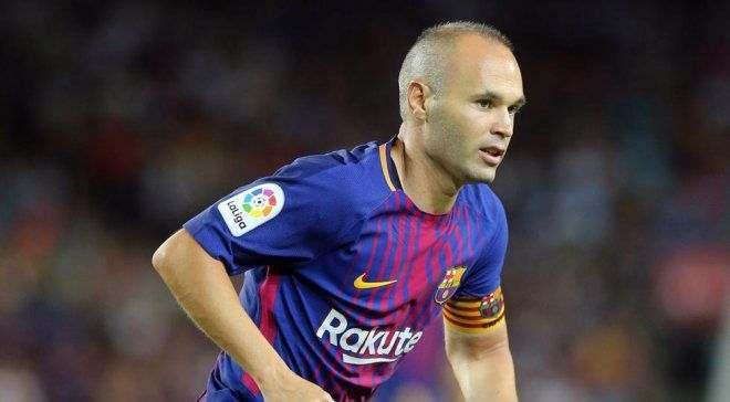Барселона договорилась с Иньестой о продлении контракта