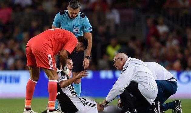 Де Шильо избежал серьезной травмы