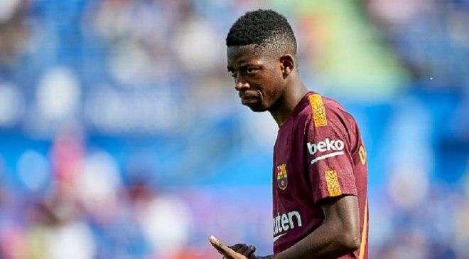 Футболист «Барселоны» Усман Дембеле удачно прооперирован всвязи стравмой бедра